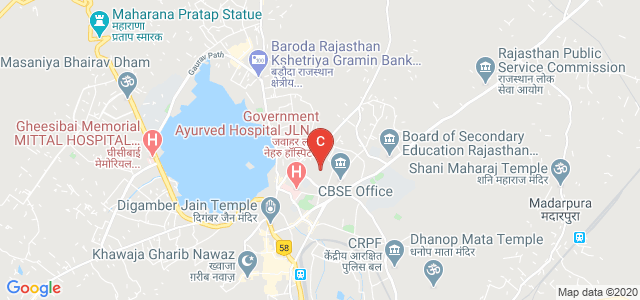 Dezyne E'cole College, Civil Lines Road, Civil Lines, Ajmer, Rajasthan, India