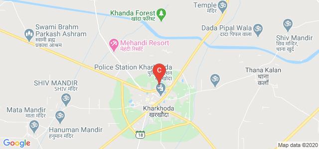 Kanya Mahavidyalaya Kharkhoda, Rohtak - Sonipat Road, Kharkhoda, Sonipat, Haryana 131402, India