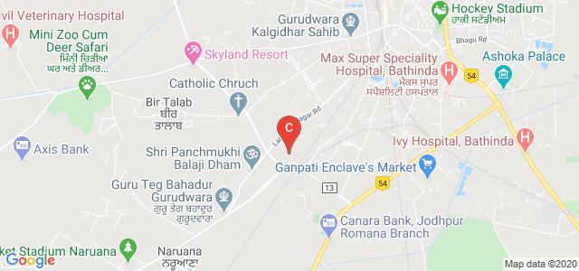 Bathinda College of Law, Badal - Bathinda Road, Lal Singh Nagar, Bathinda, Punjab, India
