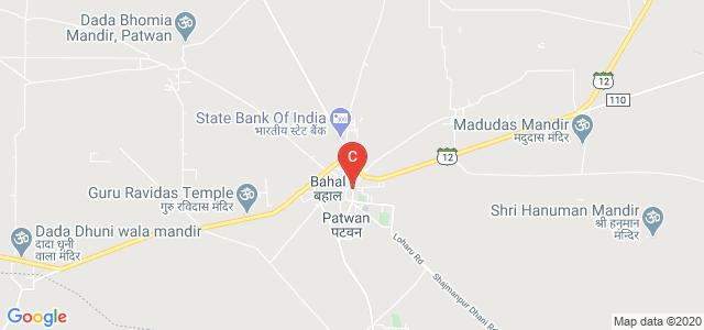 Bahal, Bhiwani, Haryana 127028, India