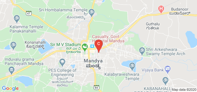 Mandya Institute Of Medical Sciences (MIMS), General Hospital Road, Tamilians Colony, Nehru Nagar, Mandya, Karnataka, India