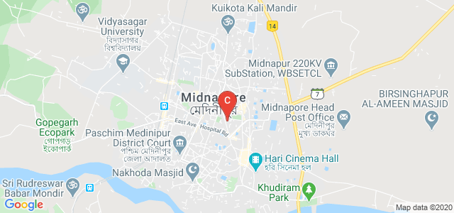 Midnapore Medical College and Hospital, Midnapore Medical College Building, Medinipur, West Bengal, India
