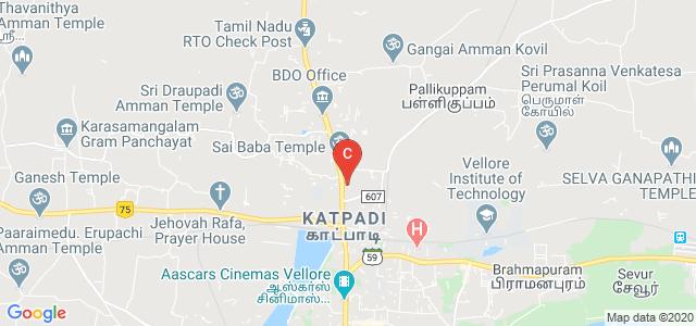Government Law College Vellore, KRS Nagar, Katpadi, Vellore, Tamil Nadu, India