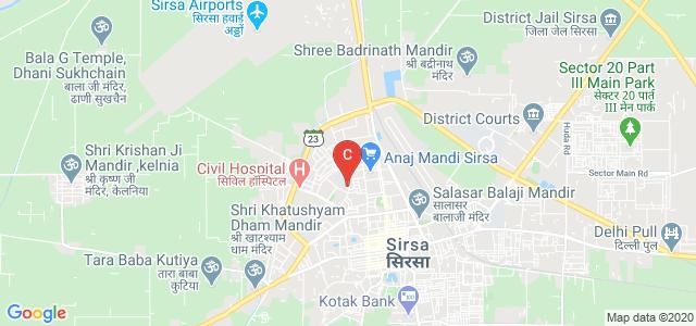 Lala Hansraj Phutela College of Law, Sirsa, B Block, Sirsa, Haryana, India