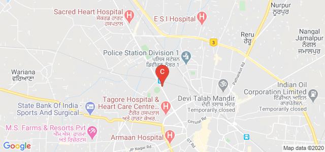 Dayanand Ayurvedic College & Hospital, Mahatma Hans Raj Marg, Gurdev Nagar, Dayanand Nagar, Jalandhar, Punjab, India