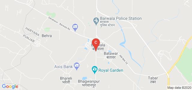 Barwala Ambala, Barwala, Panchkula, Haryana 134118, India