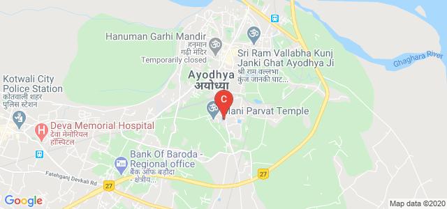 Shri Paramhansh Girls Degree College, Vidya Kund, Kami Ganj, Ayodhya, Faizabad, Uttar Pradesh, India