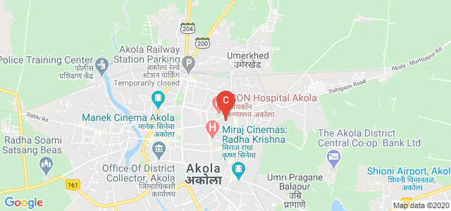 Radhakisan Toshniwal Ayurved Mahavidyalaya, Ranpise Nagar, Akola, Maharashtra, India