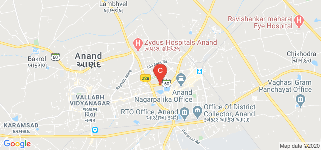 Anand Homeopathic Medical College And Research Institute, near krishna developers, Bhalej Road, Mathiya Chora, Anand, Gujarat, India