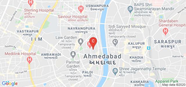 Nagar School of Optometry, Kavi Nhanalal Marg, Ellisbridge, Ahmedabad, Gujarat, India