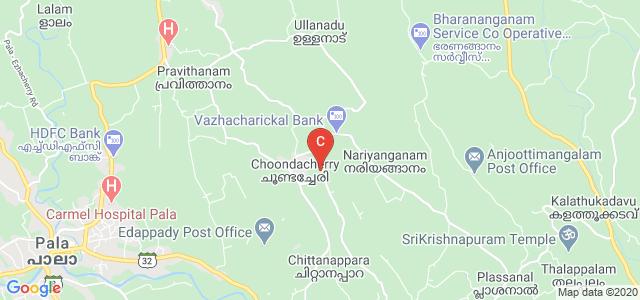St Joseph's Institute of Hotel Management, Bharananganam Pravithanam Road, Choondacherry, Kerala, India