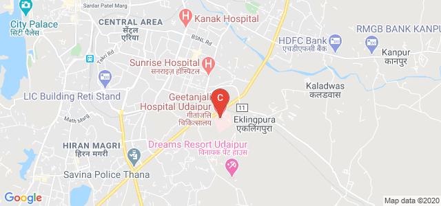 Geetanjali Physiotherapy College, Manva Kheda, Eklingpura, Udaipur, Rajasthan, India
