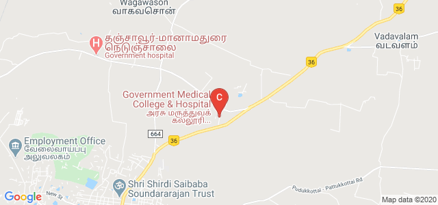 Government Medical College & Hospital, Pudukkottai R.F., Pudukkottai, Tamil Nadu, India