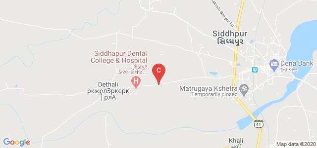 Government Homoeopathic Medical College & Hospital,Dethali, Siddhpur - Dethali Road, Dethali, Gujarat, India