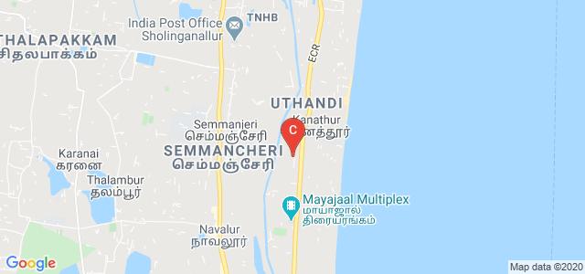 Ragas Dental College and Hospital, State Highway 49, Uthandi, Chennai, Tamil Nadu, India
