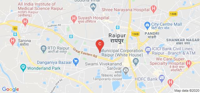 Homeopathic College, Moti Nagar, Samta Colony, Raipur, Chhattisgarh, India