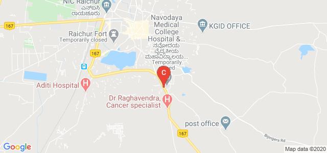 Navodaya Medical College Raichur, Ashok Nagar, Raichur, Karnataka