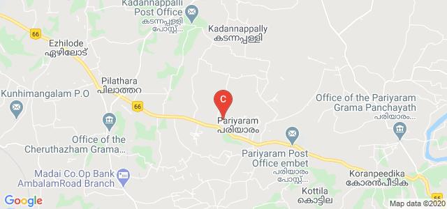 Govt. Ayurveda Medical College, Kannur, Pariyaram, Pariyaram, Kannur, Kerala, India