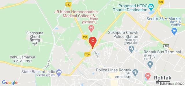 JR Kisan Homoeopathic Medical College & Hospital, Singhpura Khurd, Rohtak, Haryana, India