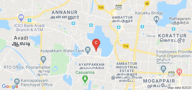 National Institute of Epidemiology, TNHB Colony, Annanur, Ambattur, Chennai, Tamil Nadu, India