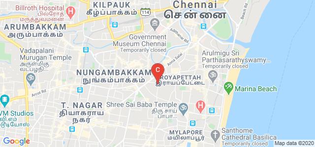 Madras Diabetes Research Foundation (Regd. Office), Conron Smith Road, Gopalapuram, Chennai, Tamil Nadu, India
