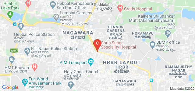 Florence College of Nursing and Physiotherapy, HRBR Layout 3rd Block, HRBR Layout, Kalyan Nagar, Bangalore, Karnataka, India
