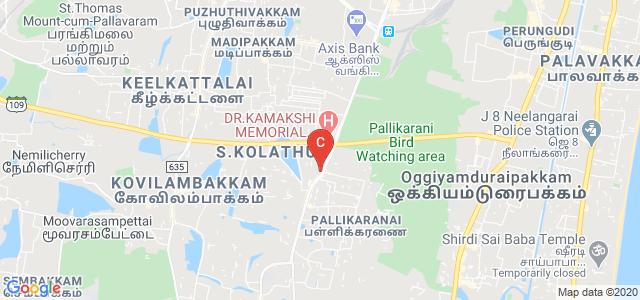 Sree Balaji Dental College & Hospital, Velachery Main Road, VGP Rajesh Nagar, Pallikaranai, Chennai, Tamil Nadu, India