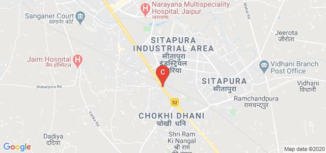 Tonk Road, Sachivalay Nagar, Sitapura, Jaipur, Rajasthan 302022, India