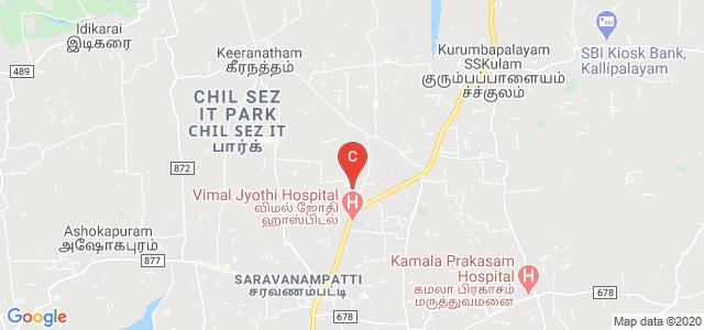 P.P.G. College of physiotherapy, nursing, ahs and education, VKV Kumaraguru Nagar, Saravanampatti, Coimbatore, Tamil Nadu, India