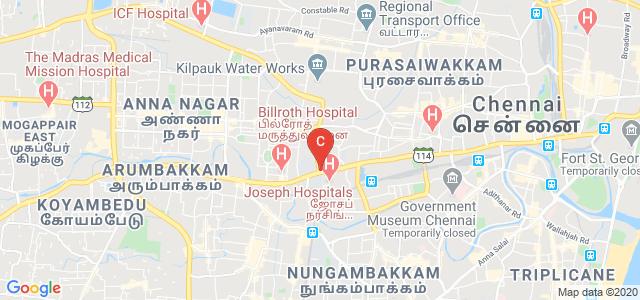 FIDA The Design School- INIFD Chennai, Poonamallee High Road, Alagappa Nagar, New Bupathy Nagar, Kilpauk, Chennai, Tamil Nadu, India