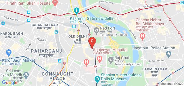 Kasturba Hospital Marg, Meena Bazaar, Jama Masjid, Old Delhi, Delhi, India