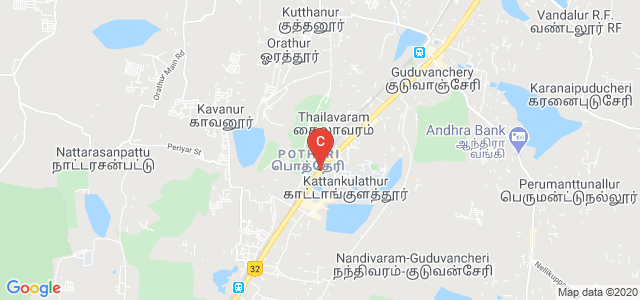 Chennai - Theni Highway, Potheri, Madambakkam, Kattankulathur, Tamil Nadu, India