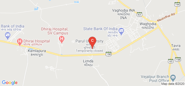 Parul Institute of Physiotherapy, Vadodara, Gujarat, India