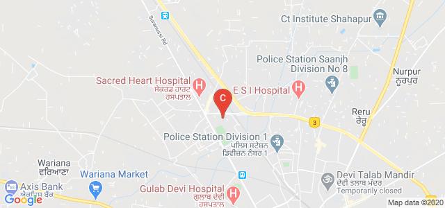 CT Institute of Hotel Management and Catering TECHNOLOGY, Moti Nagar, Jalandhar, Punjab, India