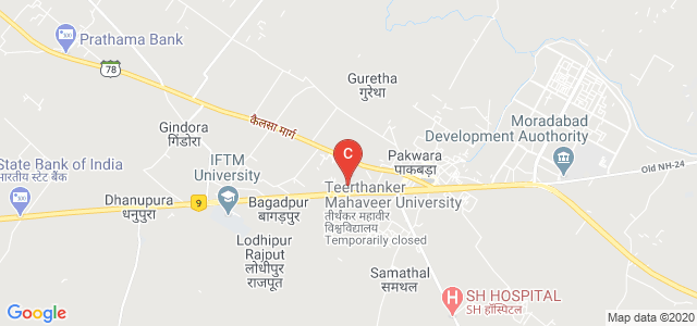 Teerthanker Mahaveer Dental College and Research Centre, Bagadpur, Moradabad, Uttar Pradesh, India