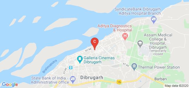 Government Dental College Dibrugarh, Red Cross Road, Dibrugarh, Assam, India