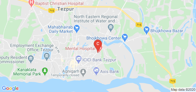 Lokopriya Gopinath Bordoloi Regional Institute of Mental Health, Ex Police Line Road, Mahabhairab, Tezpur, Assam, India