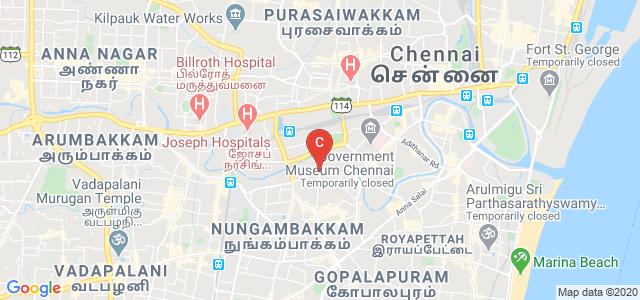 Women's Christian College, Subba Road Avenue, Nungambakkam, Chennai, Tamil Nadu, India