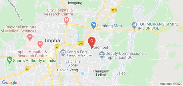 Jawaharlal Nehru Institute of Dental Sciences, Porompat Rd, Khongnang Makhong, Imphal, Manipur, India