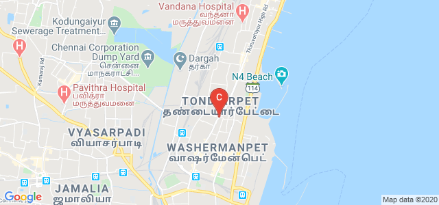 M.N.College of Optometry, Mottai Garden, Old Washermanpet, Chennai, Tamil Nadu, India