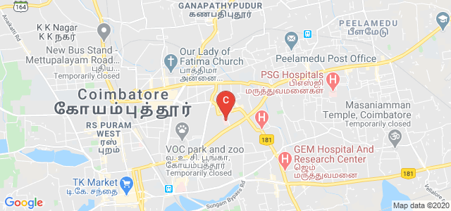 G. Kuppuswamy Naidu Memorial Hospital, Netaji Road, P N Palayam, Coimbatore, Tamil Nadu, India