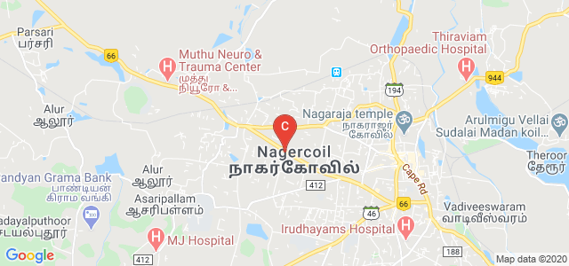 Dr. Jeyasekharan Hospital, Kottar-Parvathipuram Road, Weavers Colony, Nagercoil, Tamil Nadu, India
