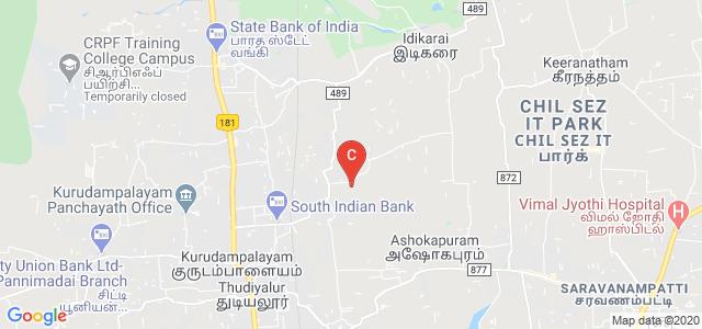 Ganga College of Nursing, Vattamalaipalayam Rd, NGGO Colony, Thudiyalur, Coimbatore, Tamil Nadu, India