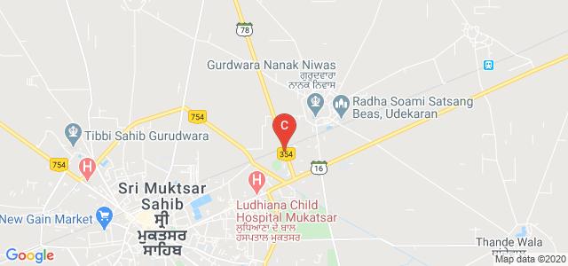 Mai Bhago Ayurvedic Medical College, Ferozepur Road, Guru Teg Bahadur Nagar, Sri Muktsar Sahib, Punjab, India