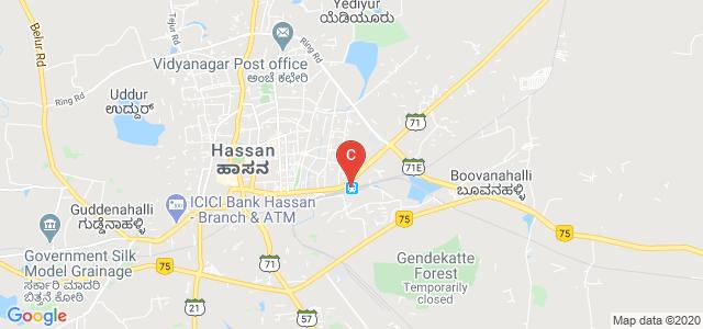 Rajeev College Of Nursing, Rangoli Halla, Hassan, Karnataka, India