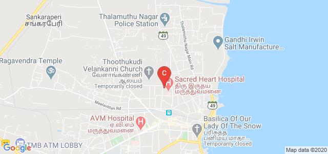 St.Ann's College of Nursing, Sacred Heart Hospital, Kandhasamy Puram, Tuticorin, Tamil Nadu, India