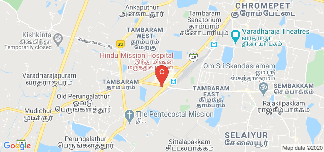 Hindu Mission Hospital, New Market, West Tambaram, Tambaram, Chennai, Tamil Nadu, India