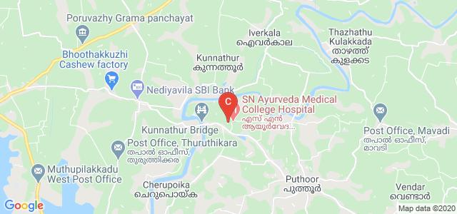 Sree Narayana Ayurveda College, Puthur, Kerala, India