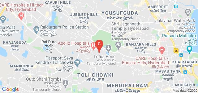 Apollo Institute of Hospital Administration, Film Nagar, Hyderabad, Telangana, India