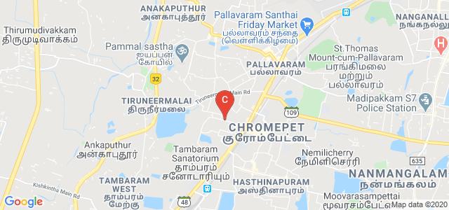 Sree Balaji College of Nursing, CLC Works Road, Shankar Nagar, Chromepet, Chennai, Tamil Nadu, India